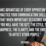 Great Quotes by Jim Rohn about Communication
