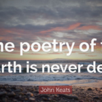 Great Quotes by John Keats about Poetry