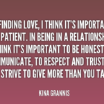 Great Quotes by Kina Grannis about Relationship