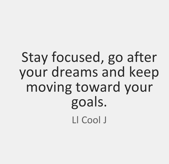 Great Quotes by LL Cool J about Dreams