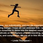 Great Quotes by Linda Thompson about Hope