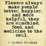 Great Quotes by Luther Burbank about Food