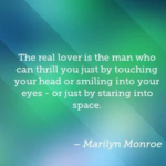 Great Quotes by Marilyn Monroe about Space
