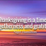 Great Quotes by Nigel Hamilton about Thanksgiving