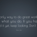 Great Work Is To Love What You Do  Quotes