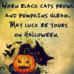 Halloween Birthday Sayings