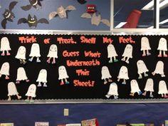 Fall Classroom Window Decorations ~ Halloween bulletin board sayings upload mega quotes
