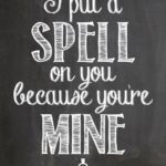 Halloween Chalkboard Quotes and Sayings