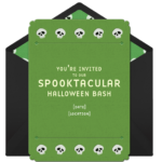 Halloween Party Invitations Quotes and Sayings