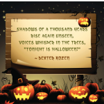 Halloween Sayings and Phrases