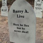 Halloween Tombstone Sayings