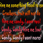 Halloween Treat Quotes Sayings