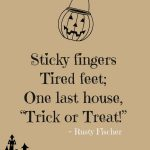 Halloween Treat Sayings
