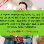 Happy 4 Month Anniversary Quotes Facebook