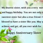 Happy Anniversary Sister Wishes Twitter