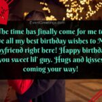Happy Birthday Message For Boyfriend Tumblr