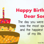 Happy Birthday Message For Son Twitter