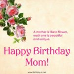 Happy Birthday Mom Wishes Facebook