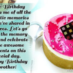 Happy Birthday Sms For Brother Twitter