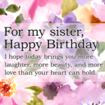 Happy Birthday To Sister Images