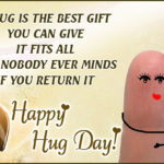 Happy Hug Day For Friends Facebook