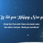 Happy New Year And Wish You Facebook