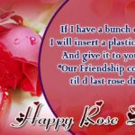 Happy Rose Day Quotes For Friends Facebook