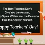 Happy Teachers Day 2020 Pinterest