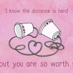 Happy Valentines Day Long Distance Pinterest