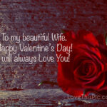 Happy Valentines Day Wife Images Facebook