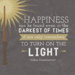 Harry Potter Quote About Light Pinterest
