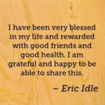 Health Quotes by Eric Idle