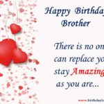 Heart Touching Birthday Wishes For Brother Twitter