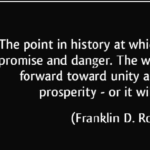 History Quotes by Franklin D. Roosevelt
