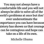 Hope Quotes by Michelle Obama