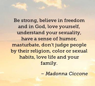 Humor Quotes by Madonna Ciccone