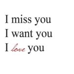 I Miss You Baby Quotes For Her for Facebook