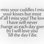 I Miss You Quotes For Him I Love You