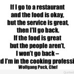 Inspirational Quotes For Restaurant Service Pinterest