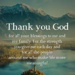 Inspirational Thank You God Quotes Pinterest