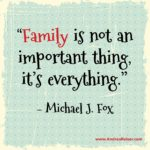It's All About Family Quotes Pinterest