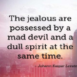 Jealousy Quotes by Johann Kaspar Lavater