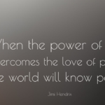 Jimi Hendrix Quotes About Power