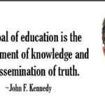 John F. Kennedy Quotes About Knowledge