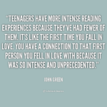 John Green Quotes About Reading