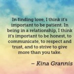 Kina Grannis Quotes About Trust