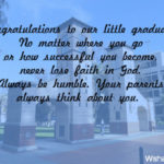Kindergarten Graduation Quotes From Parents