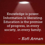 Kofi Annan Quotes About Family