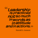 Leadership Quotes by Harold S. Geneen