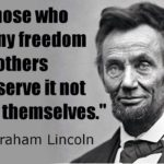 Leadership Quotes by Lincoln